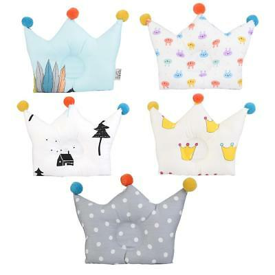 Cute Cartoon Cotton Comfortable Sunken Pillow for Baby Infant Newborn Prevention