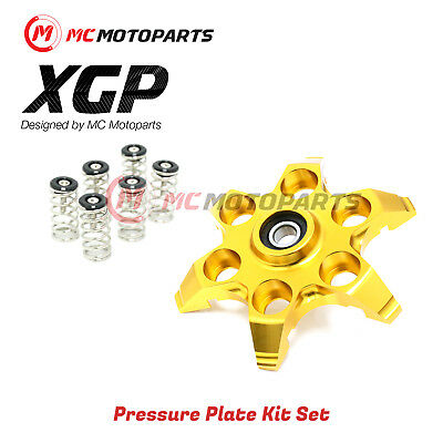 For Ducati Monster 1100 ABS EVO S GOLD XGP Pressure Plate Clutch BK Springs Pack