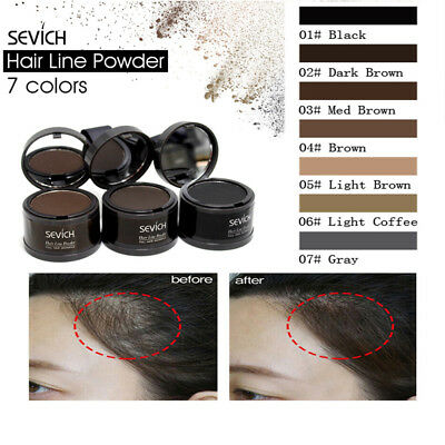 Hair Filling Powder Cover Up Hairline Shadow Instant Concealer Makeup Tool