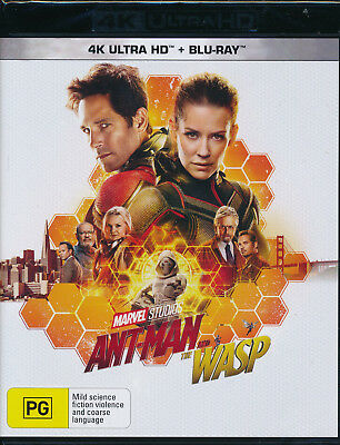 Ant-Man And The Wasp 4K Ultra HD + Blu-ray NEW Region B