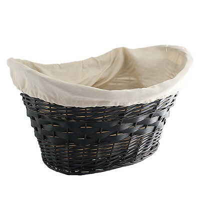 Fireside Fire Wood Log Carry Wicker Storage Basket Large With Liner Fireplace
