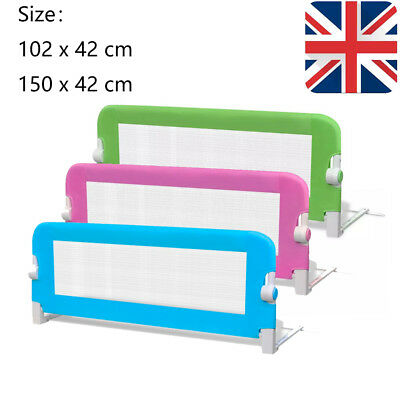 Baby Bed Safety Rail Guard  Kid Toddler Bedroom Protection Gate Household UK
