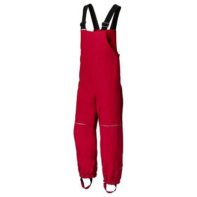 VAUDE Red Owl Pants II Kinder Regenhose rot