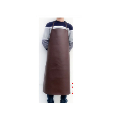 Fire prevention Welding  Leather Apron Work Apron Leather Welding Brown 120cm UK