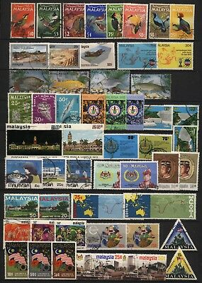 Malaysia Collection Commemorative Sets Used