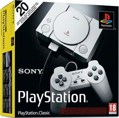 PlayStation Classic Console Mini  - NEW AND SEALED - IN STOCK - QUICK DISPATCH