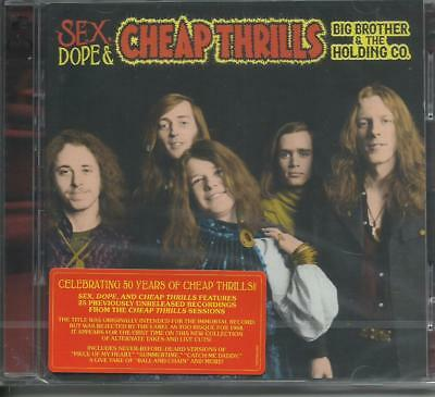 BIG BROTHER & THE HOLDING CO. - Sex dope Cheap Thrills (deluxe) (2018) 2 CD