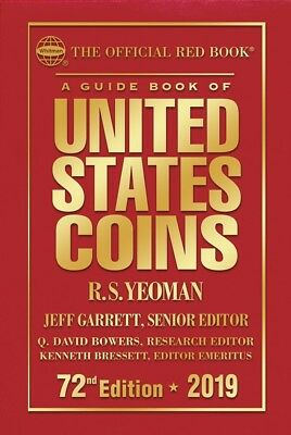 2019 Official Red Book Price Guide Of United States Coins, Hardcover