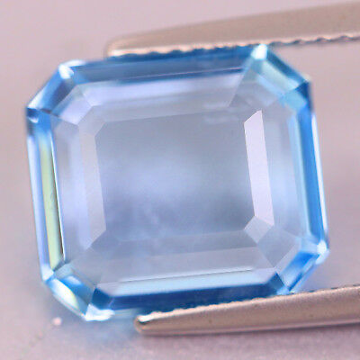 4.60c Double Sided! Flawless Deep Intense Blue AQUAMARINE SANTA_MARIA Brazil
