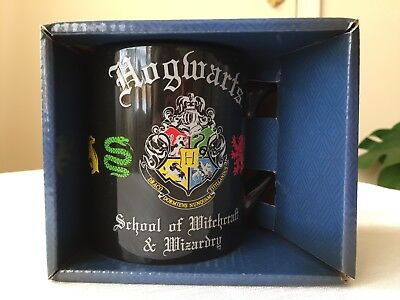Harry Potter Hogwarts Crest School of Witchcraft and Wizardry 14oz Mug/Cup New