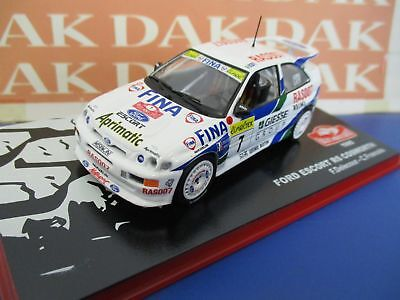 Die cast 1/43 Modellino Auto Ford Escort RS Cosworth Fina Rally Monte Carlo 1995