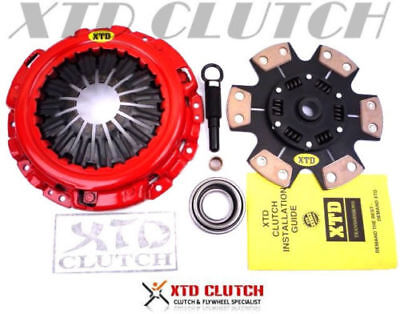 Xtd Stage 3 Ceramic Clutch Kit Fits 2003-2006 Nissan 350Z 2003-2007 Infiniti G35
