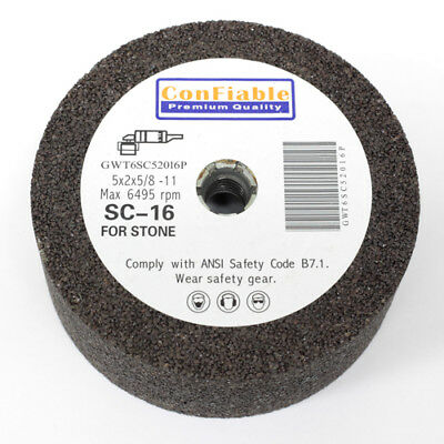 """Silicon Carbide Stone Grinding Cups 4/"""" x 120 Grit"""