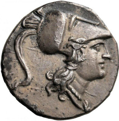 METAPONTION Metapontum Lucania 2nd PUNIC WAR Time Ancient Silver Greek Coin