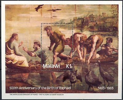 Malawi 1983 SG#MS673, 500th Birth Anniv Of Raphael MNH M/S #D81139