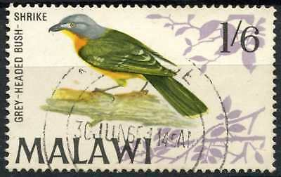 Malawi 1968 SG#317, 1s6d Bird Definitive Used #D81155