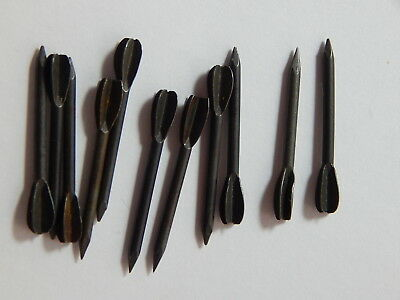 Vintage Korea & Vietnam War Era Military Flechette Arrows - Lot of 12