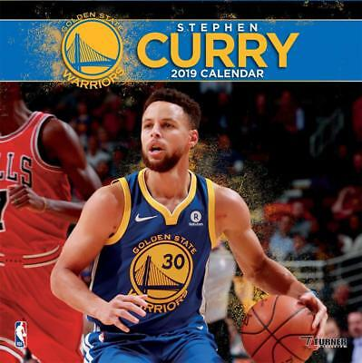 NBA Stephen Curry Warriors Kalender Wandkalender 2019 Basketball Calendar
