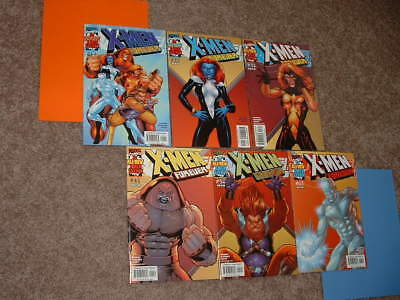 2001 Lot of 6 X-Men Forever 1 2 3 4 5 6 Nicieza Maguire Sharp VFNM Free Shipping