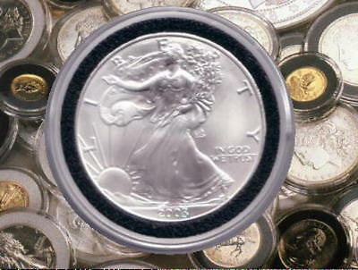 """Genuine  AIR-TITE  Coin Protectors for all US 1oz American Silver Eagle Coins  """""""