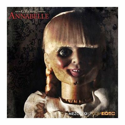 """Annabelle Horror Puppe 45cm 18"""" 1/4 Mezco a. Film The Conjuring Horrorpuppe Doll"""