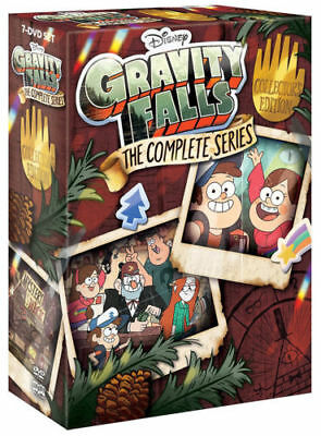 Gravity Falls: The Complete Series (DVD 2018 7-Disc Box Set)