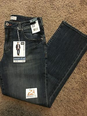 Nwt Men's Lee Modern Series Straight Fit Straight Leg L342 Jeans 30X30 Msrp$48