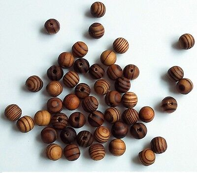 200 pcs Brown Wood Spacer Loose beads Necklace Bracelets charms Findings 8mm /OO