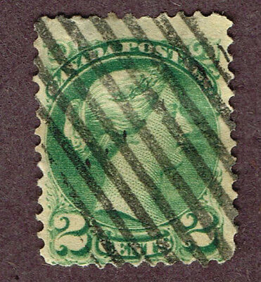 Canada Precancel Small Queens I-36-V Fine  (Act5,2