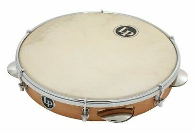 LP Latin Percussion LP 3010N 10'' Wood Pandeiro - Natural - inkl. Tasche