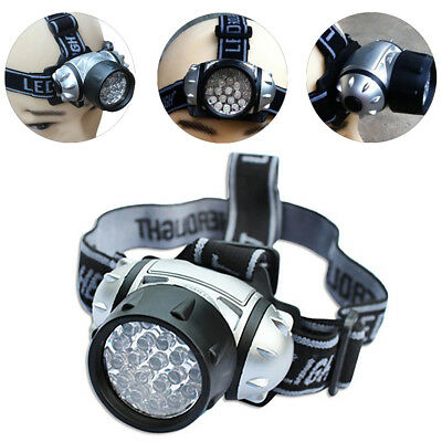 12LED Ultra Bright Head Light Torch Lamp Camping Hiking Fishing Lighting New