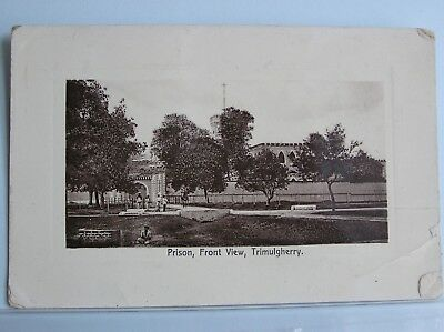 POSTCARD - TRIMULGHERRY - THE PRISON - SECUNDERABAD INDIA - c.1911