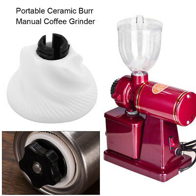 Portable Ceramic Burr Manual Coffee Grinder for Home Office Hand Crank Bean Mill