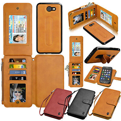 For Samsung Galaxy J7 Sky Pro J7 Perx Halo J7 PRIME J7 2017 Wallet Leather Case