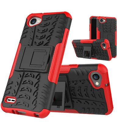 For LG G6 Q6 Plus Hybrid Rugged Heavy Duty Armor Rubber Anti-Fall Protect Case