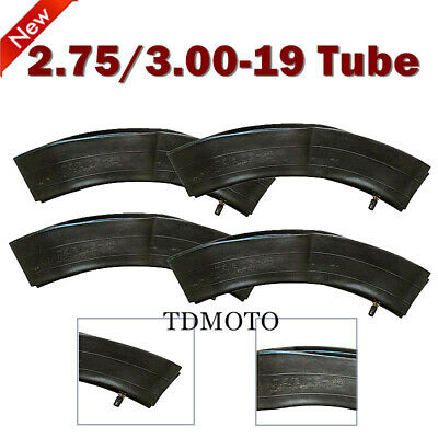 "4x 2.75- 19 70/100-19"" Front Inner Tube PIT PRO Quad Trail Drit Bike Motorcycle"