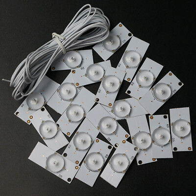 3V SMD Lamp Beads With Optical Lens Fliter For 32-65 Inch LED TV Repair Hot Sale