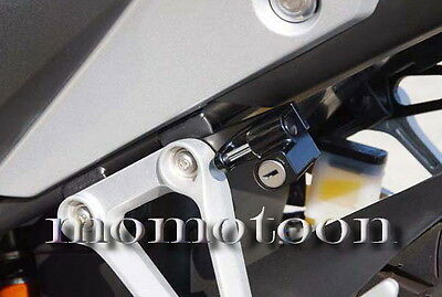 Superbike MX Cafe Race Bubble Motorcycle DIY Universal Helmet Lock 2 Key