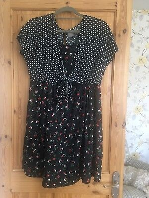 Maternity Nursing Dress ASOS Size 16 New Without Tags