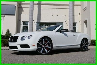 2014 Bentley Continental GT GT V8 Convertible