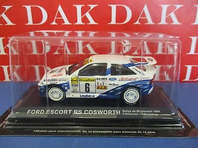 Die cast 1/43 Modellino Auto Ford Escort RS Cosworth Rally Monte Carlo 1994