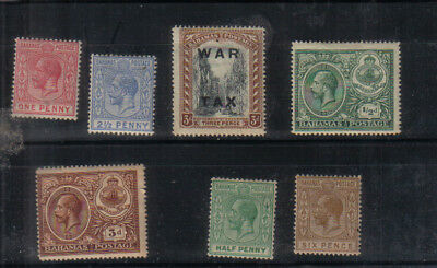 Bahamas George V Small mint collection