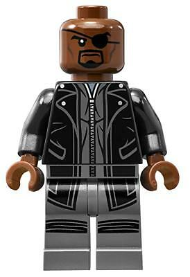 NICK FURY minifigures Compatibile LEGO MARVEL NEW AVENGERS 4  97