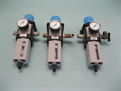 Lot (3) Festo LFR-M2 Filter Regulator A8 (2427)