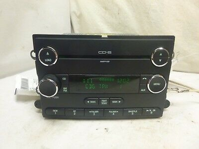 08 09 Ford Edge Lincoln MKX Radio 6 CD Player 8T4T-18C815-DC RUD23