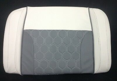 Tidewater 230 Removable Back Cushion White/Gray TW13610-17