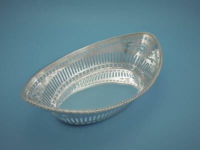 Brotschale - versilbert - London um 1920 - Goldsmiths & Silversmiths - #GSF1196