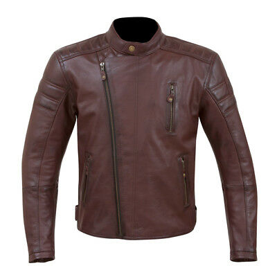 NEW Merlin Men's Lichfield Leather Motorcycle Touring Jacket