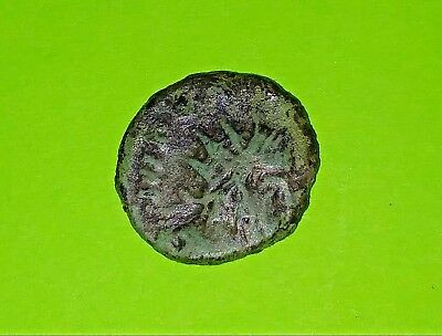 Tetricus I ancient BARBARIAN COIN barbaric Roman old antique artifact VG goddess