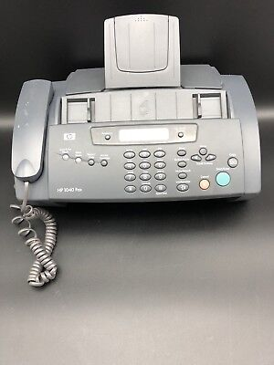 HP 1040 Inkjet Plain Paper Fax Machine With Built-In Telephone, Scan & Print